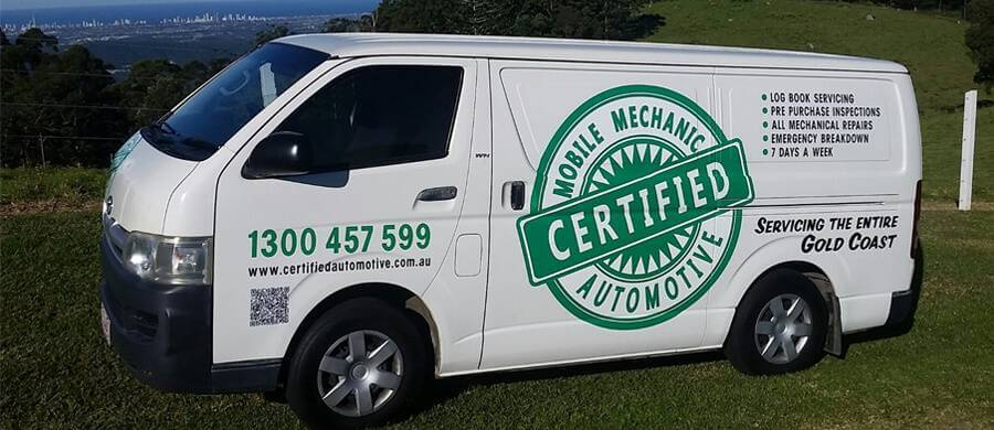 Certified automotive mobile mechanic gold coast