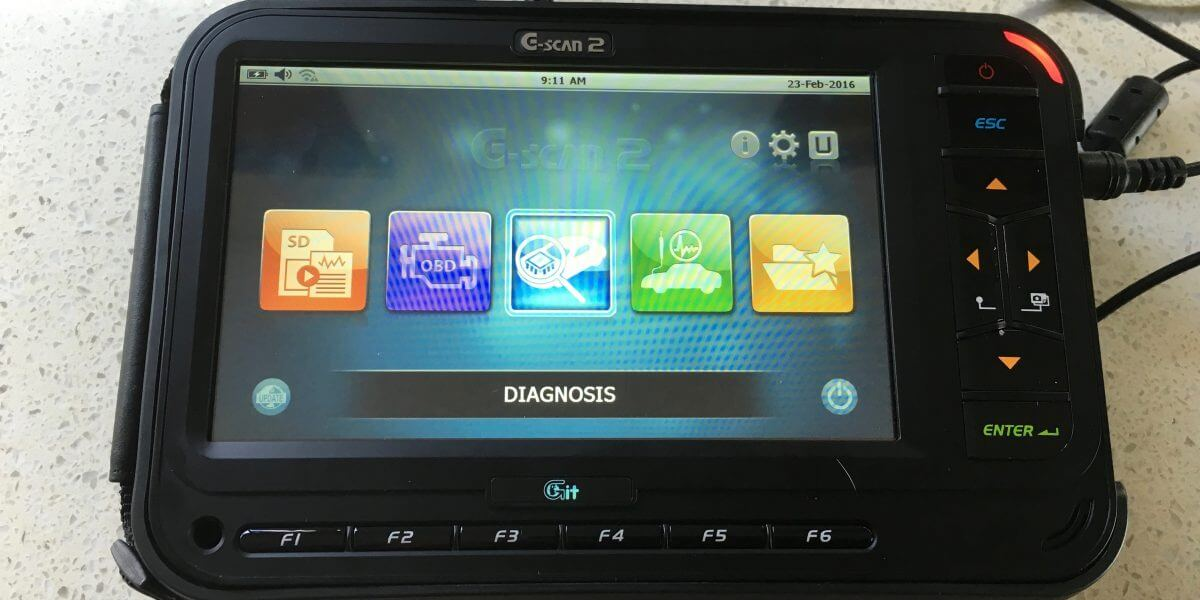 G Scan 2 - diagnostics