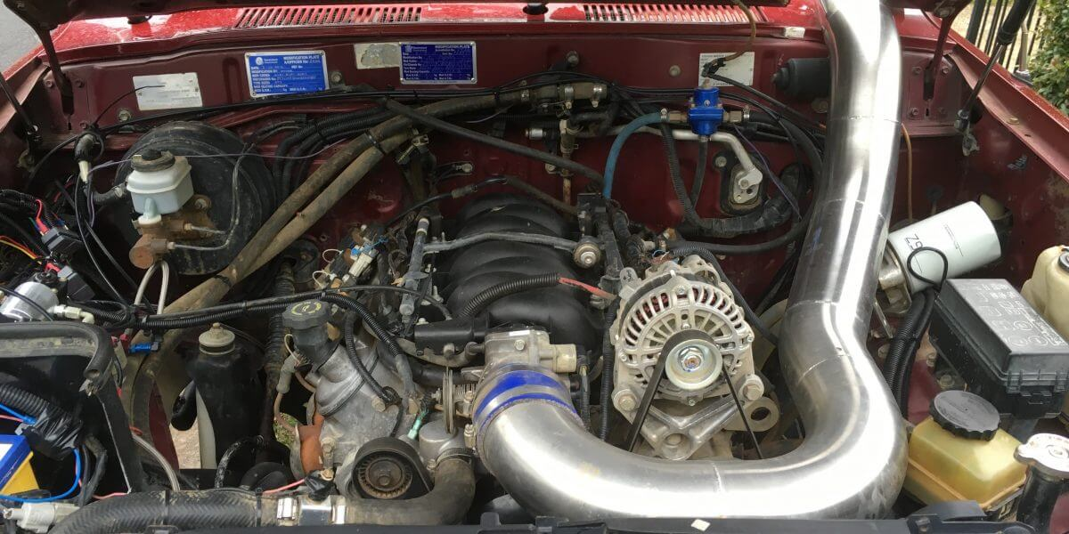 LS1 80 series landcruiser