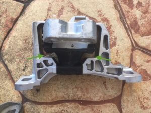 New Ford Focus engine mount