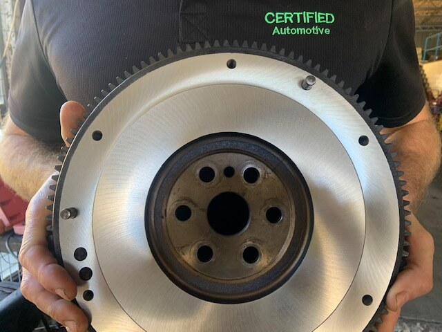 Flywheel machining/grinding/resurfacing